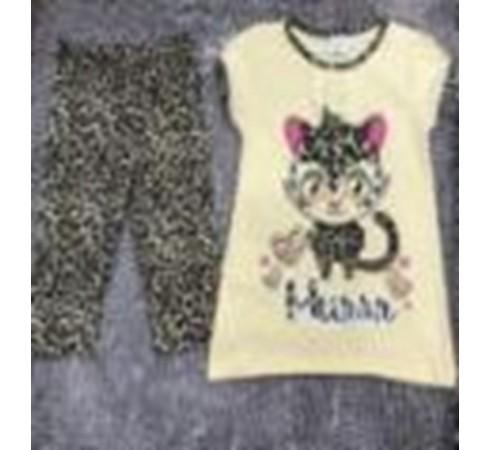 Комплект футболка (туника) и брюки для девочки M004