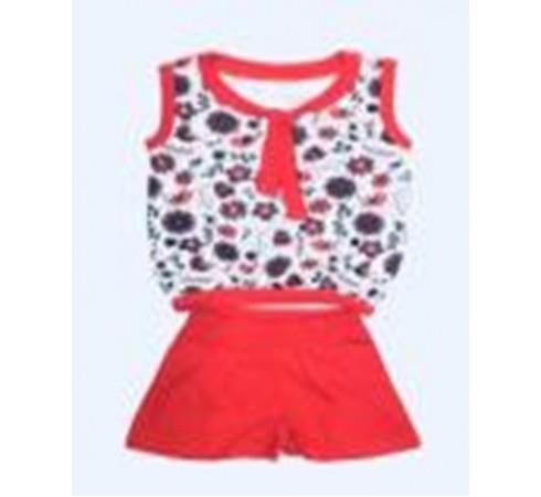 Комплект футболка и шорты для девочки M115