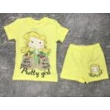 Комплект футболка и шорты для девочки M005