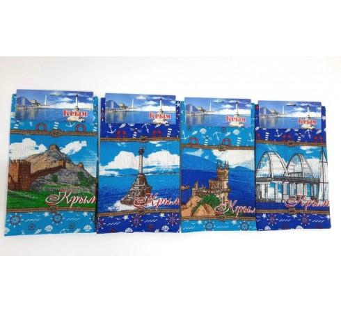 Полотенце вафельное сувенирное Морской 35x60