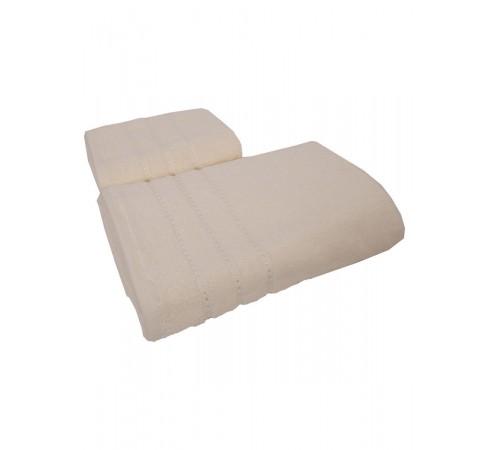 Набор махровых полотенец Классика 50х90 и 70х140 арт-12682337 (2 шт)