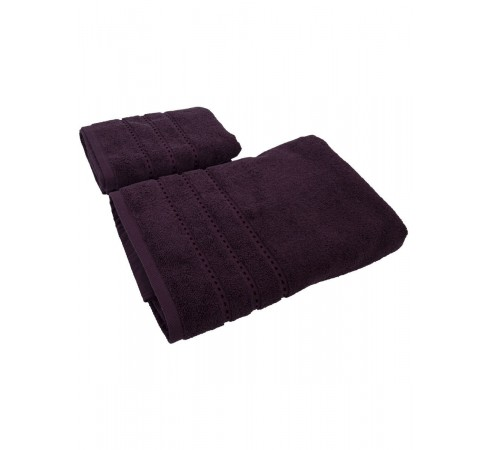 Набор махровых полотенец Классика 50х90 и 70х140 арт-12682340 (2 шт)