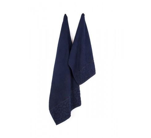 Набор махровых полотенец Двойной бордюр 50х90 и 70х140 арт-13285071 (2 шт)
