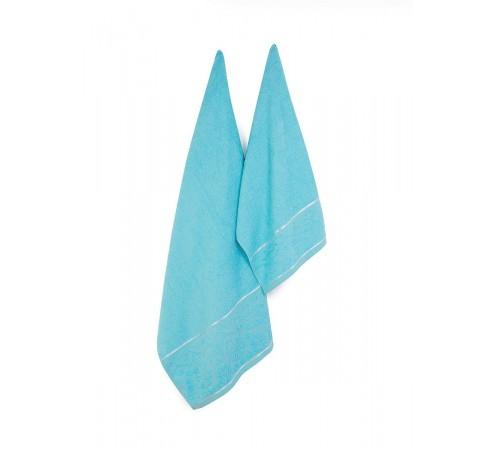 Набор махровых полотенец Двойной бордюр 50х90 и 70х140 арт-13285069 (2 шт)