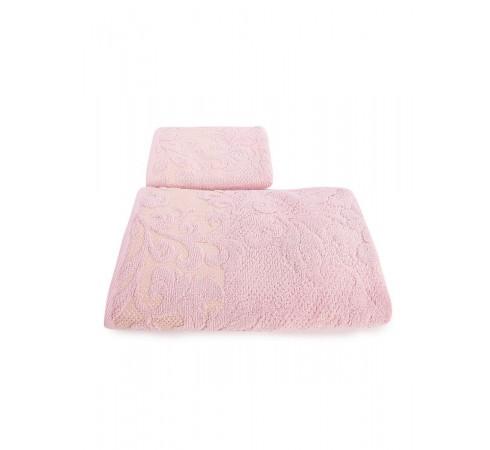 Набор махровых полотенец Морозные узоры 50х90 и 70х140 арт-12912244 (2 шт)
