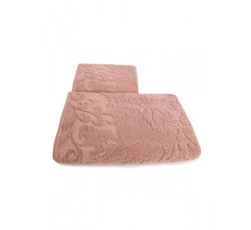 Набор махровых полотенец Морозные узоры 50х90 и 70х140 арт-12912240 (2 шт)