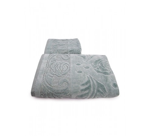 Набор махровых полотенец Чайная роза 50х90 и 70х140 арт-12912224 (2 шт)