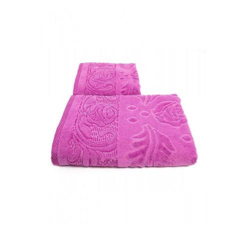 Набор махровых полотенец Чайная роза 50х90 и 70х140 арт-12912225 (2 шт)