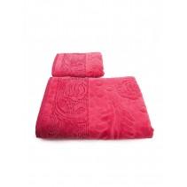 Набор махровых полотенец Чайная роза 50х90 и 70х140 арт-12912223 (2 шт)