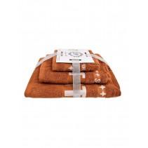 Набор махровых полотенец Спорт 30х60 50х90 и 70х140 арт-13176139 (3 шт)