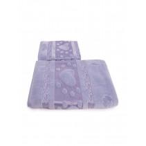 Набор махровых полотенец Сердечки 50х90 и 70х140 арт-12912234 (2 шт)