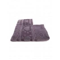 Набор махровых полотенец Сердечки 50х90 и 70х140 арт-12912235 (2 шт)