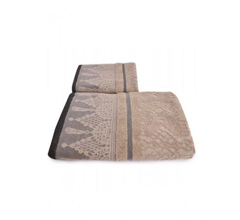 Набор махровых полотенец Венецианское кружево 50х90 и 70х140 арт-13176150 (2 шт)