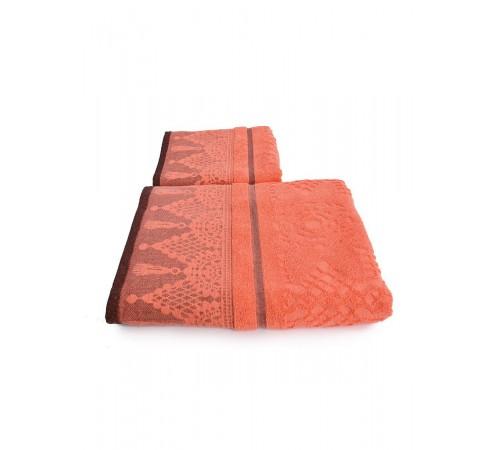 Набор махровых полотенец Венецианское кружево 50х90 и 70х140 арт-13176153 (2 шт)