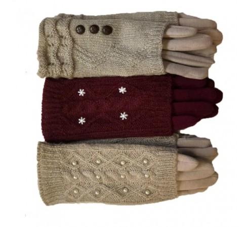 Перчатки женские 24x8 арт-8188-2