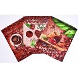 Полотенце кухонное вафельное Кофе 45×60 хлопок арт-554-1П