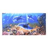 Полотенце вафельное пляжное 80x150 арт-80150П