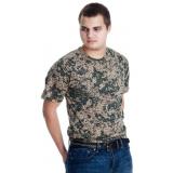 Футболка мужская камуфляж 48-56 р-р арт-12110