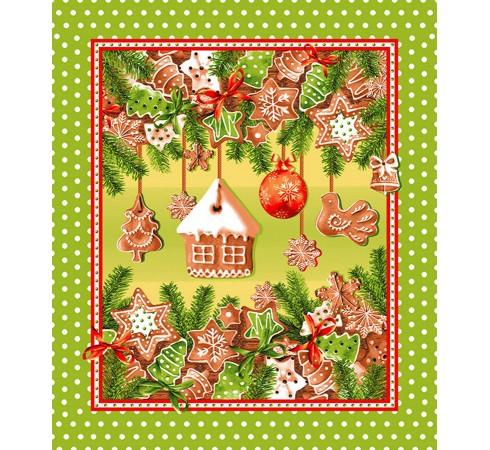 Полотенце вафельное Праздник детства 50x60 ПВ0496