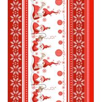 Полотенце вафельное Санта 50x60 ПВ0498