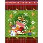 Полотенце вафельное Новогодние чудеса 60x45 ПВ0505