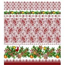 Полотенце вафельное Новогодний пряник 60x45 ПВ0526