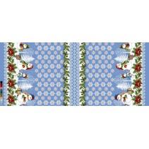 Полотенце вафельное Снеговик 60x45 ПВ0527