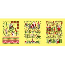Полотенце вафельное Новогодняя сказка 60x45 ПВ0531
