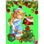 Полотенце вафельное Бычки подарочки 60x45 ПВ0534