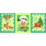 Полотенце вафельное Рождественские истории 60x45 ПВ0535