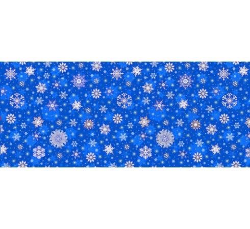 Полотенце вафельное Снежинки 60x45 ПВ0572