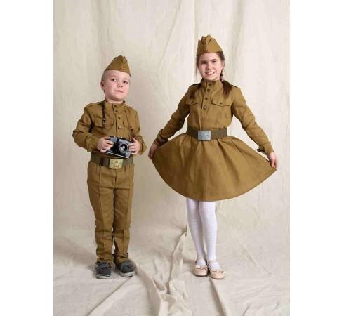 Гимнастерка военная детская, детский военный костюм на 9 мая