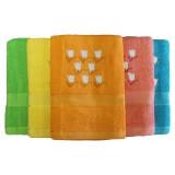 Полотенце махровое 30x75 арт 008 (вышивка)