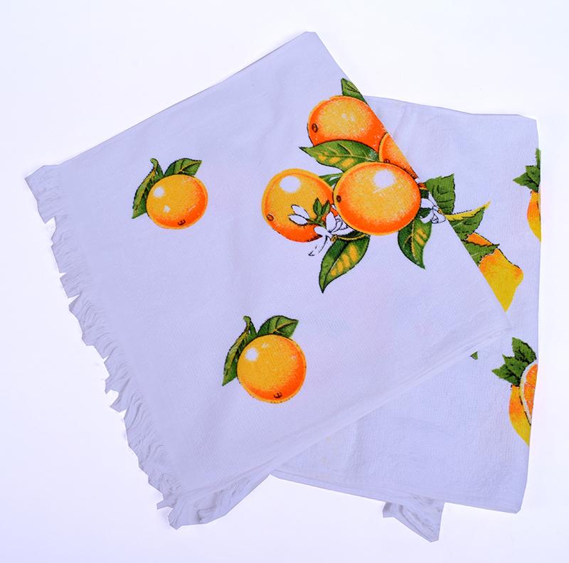Полотенце махровое «фрукты» арт. 12183