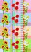 """Полотенце вафельное """"Подсолнухи-Маки-Нарциссы"""" арт. 22115"""