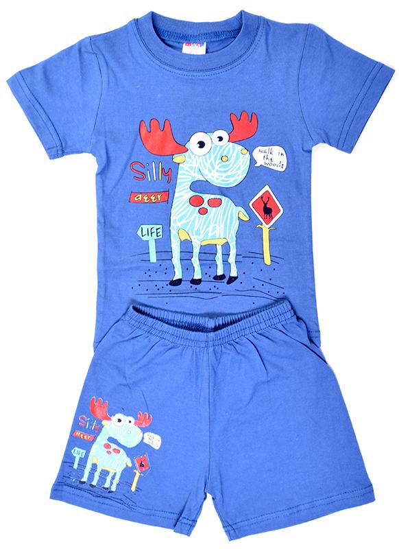 Комплект детский д/м (футболка, шорты) арт. КДМ1