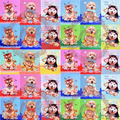 Полотенце с собаками 1