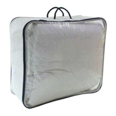Одеяло «Овен» 110*140 комб.мех чистошерстяное, полиэстер, сумка ПВХ