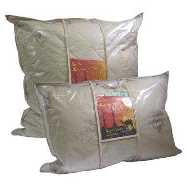 Подушка «Сны Шахерезады» 50*70 верблюжья шерсть 2х камерная