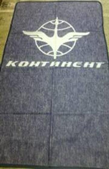 Плед шерсть КОНТИНЕНТ 100х150