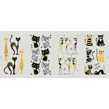 Полотенце рогожка Котята 35×60 арт 23171