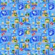 Полотенце вафельное пляжное Сочи Марка 100x150 арт 100150СМ