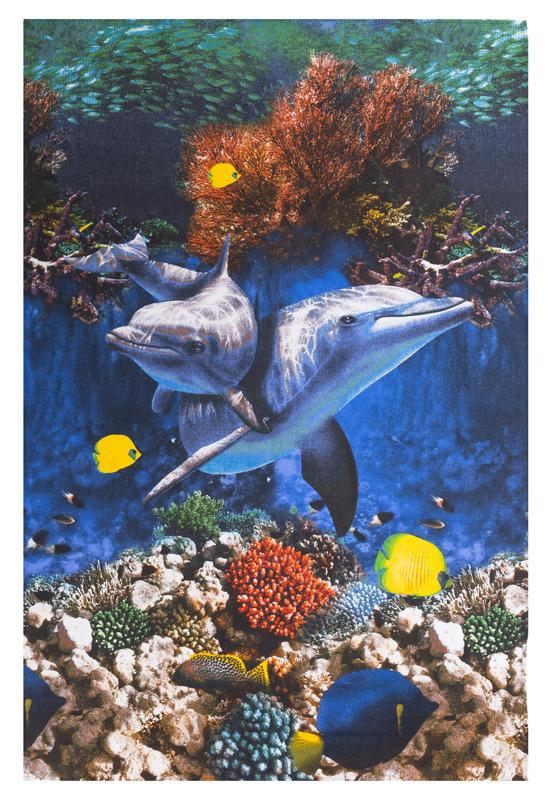 Полотенце вафельное пляжное арт. 12169П