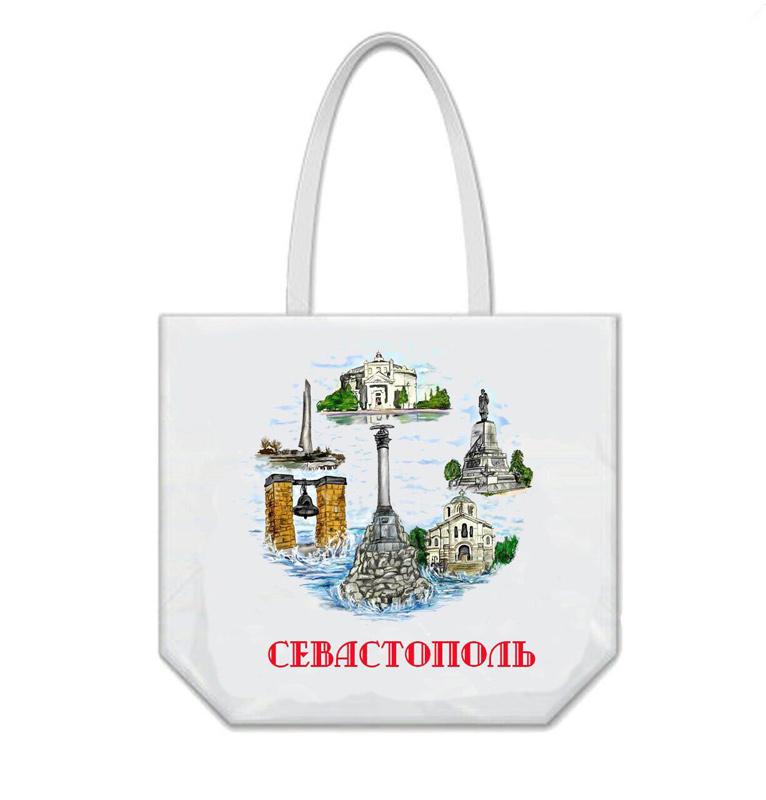 Сумка пляжная «Виды Крыма» Севастополь