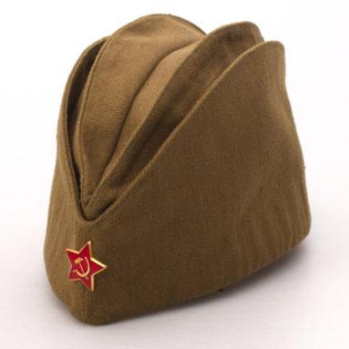 Пилотка военная. Цвет хаки. Сделаны по ГОСТ СССР